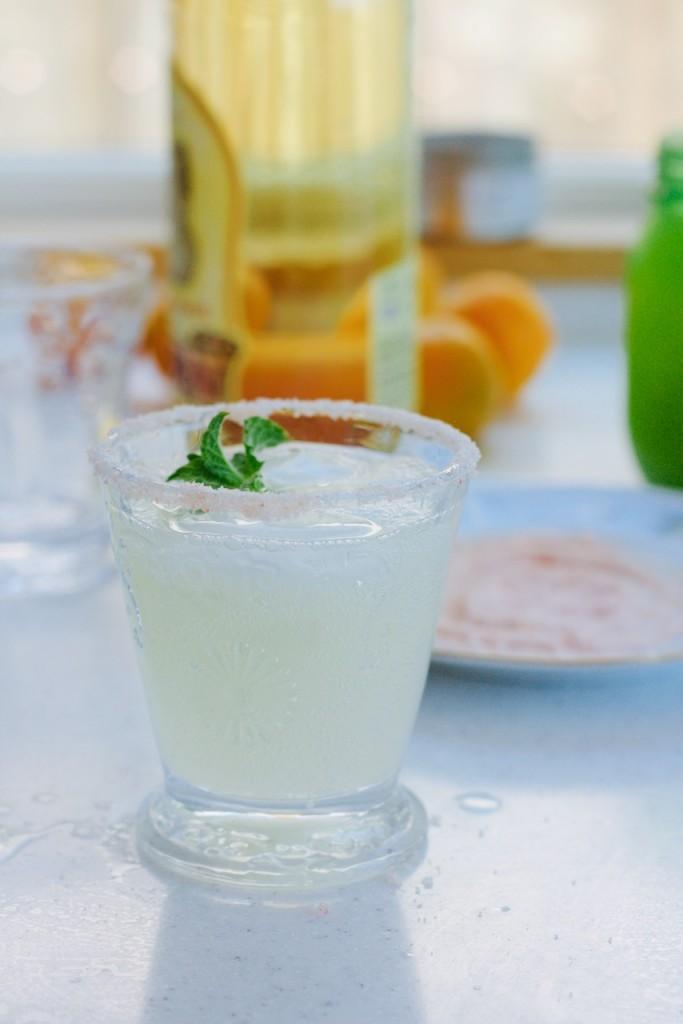 lemon tequila salt cocktail