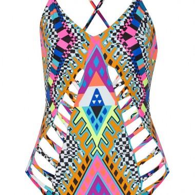 Mindy Kaling Mara Hoffman Swimsuit