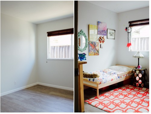 boy's bedroom before and after