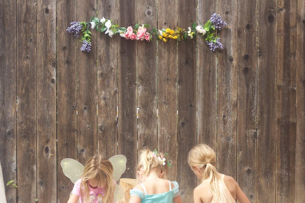 little girl fairytale party