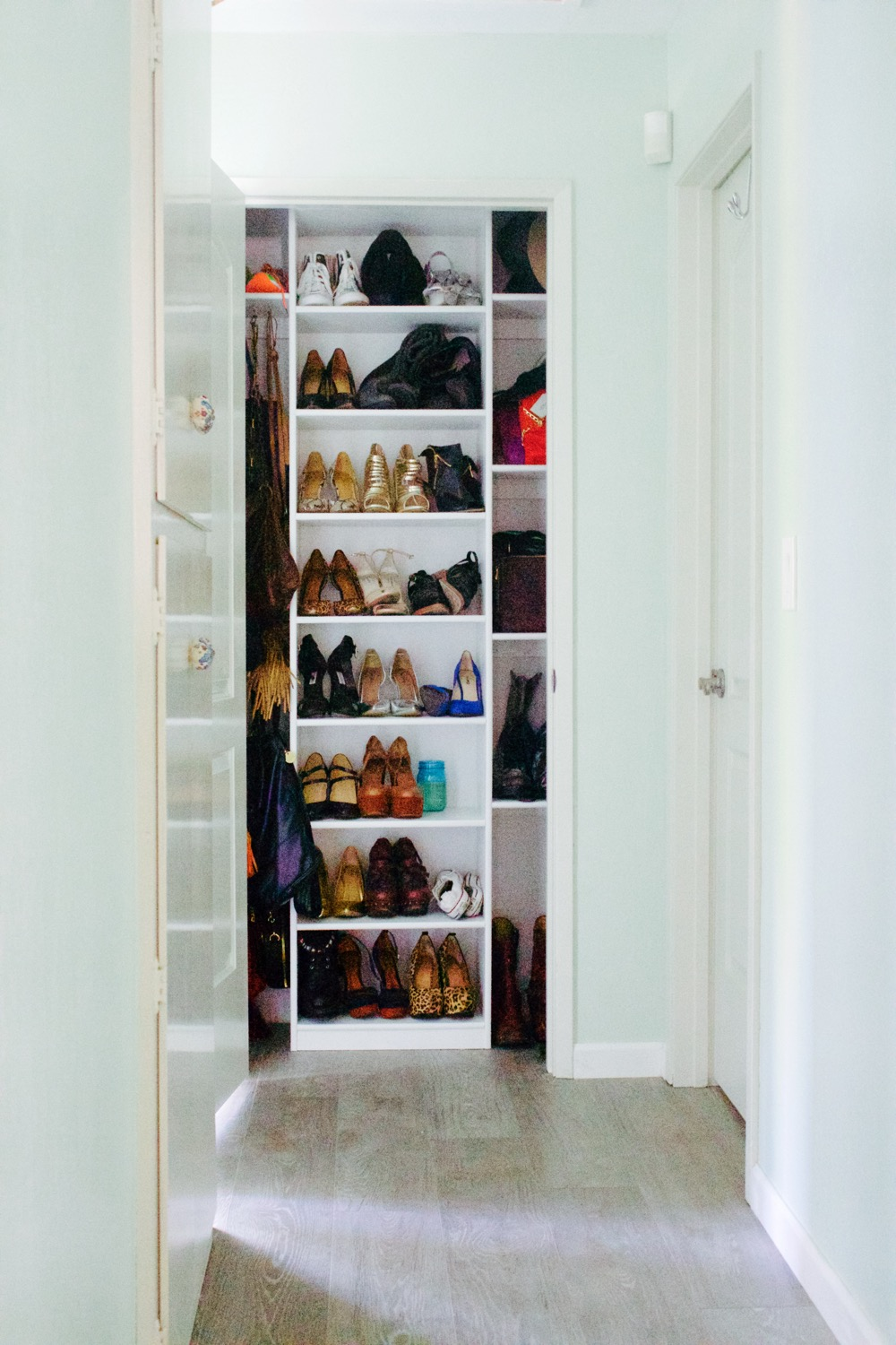 A simple solution for shoe organization