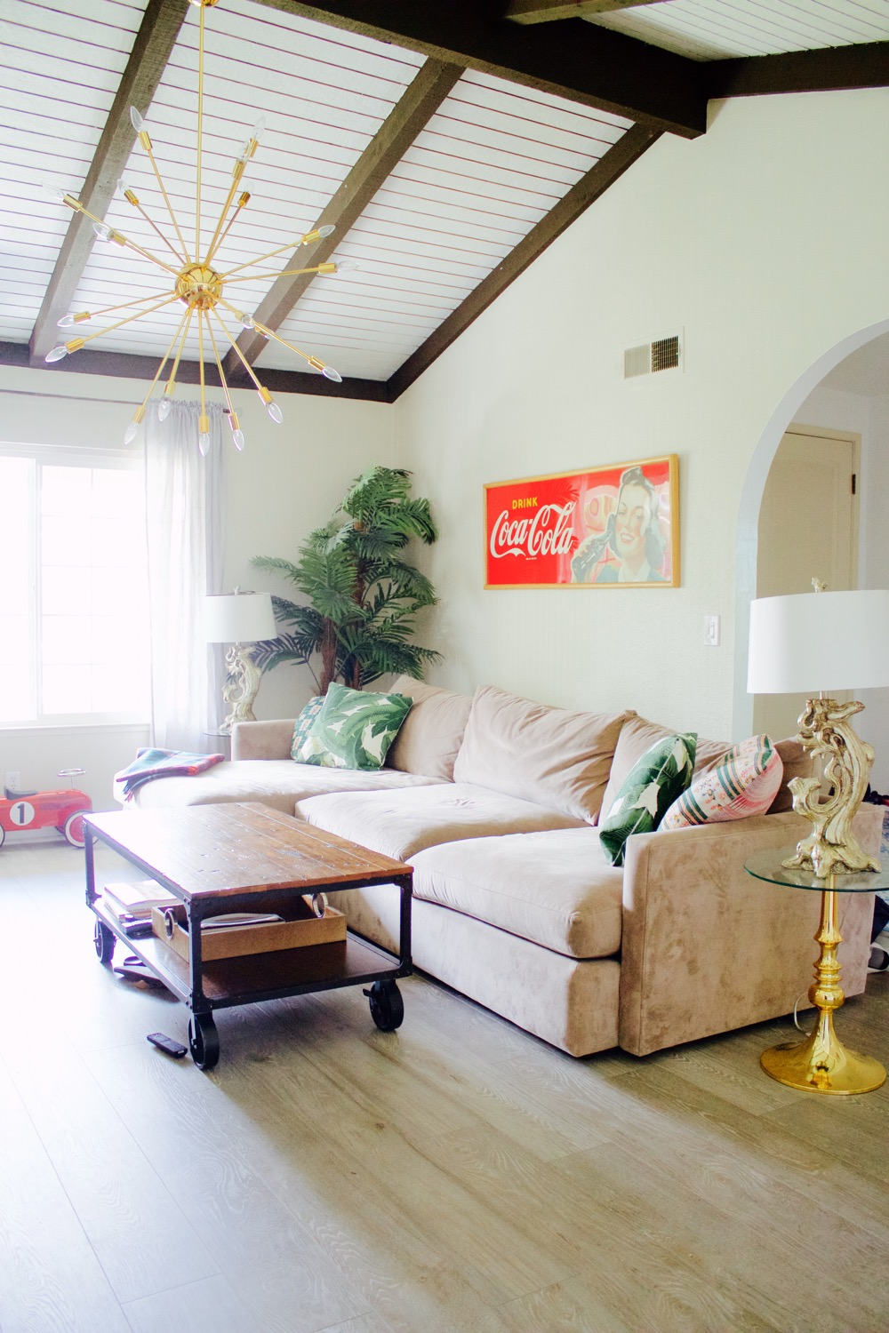 A Look Inside Our New Home Ramshackle Glam