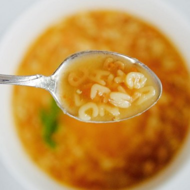 mexican comfort food soup called sopa de fideo