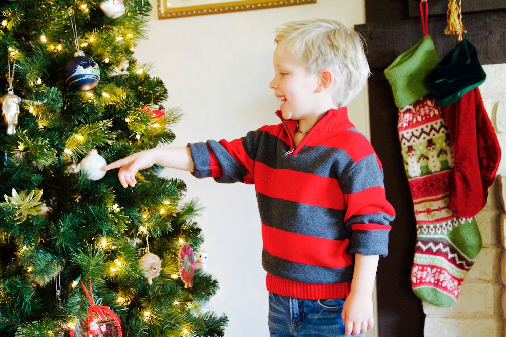 little boy's holiday clothing from kmart