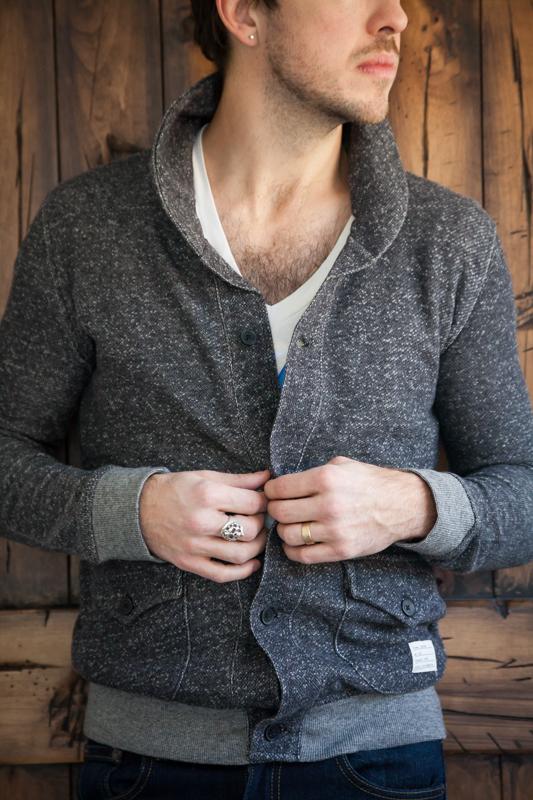 Adam Levine men's cardigan from Kmart