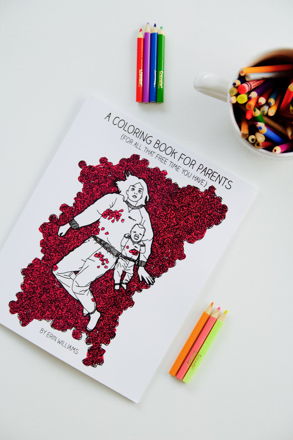 A (Funny) Coloring Book For New Parents - Ramshackle Glam