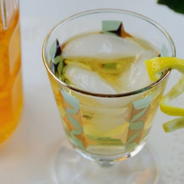 Homemade orange infused vodka recipe