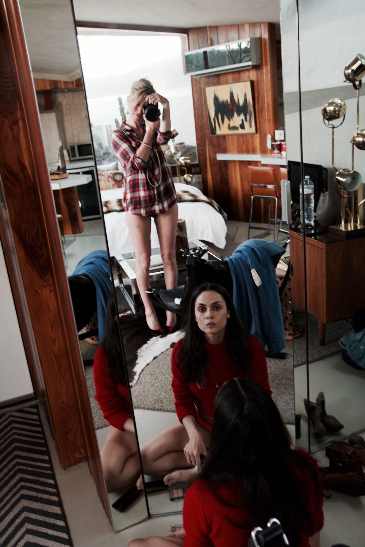 Jordan Reid and Francesca Vannucci at the Hotel Lautner