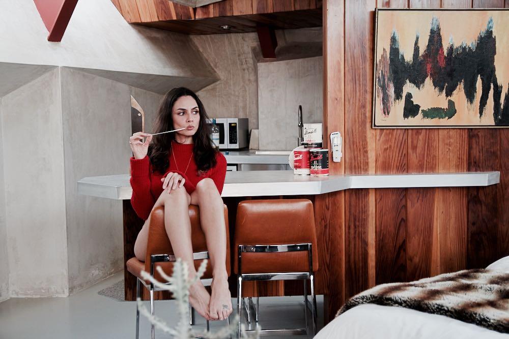 Francesca Vannucci in Desert Hot Springs, California