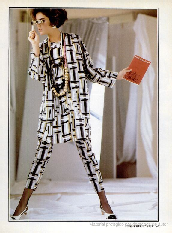 Anna Wintour shoot for New York Magazine, April 1983
