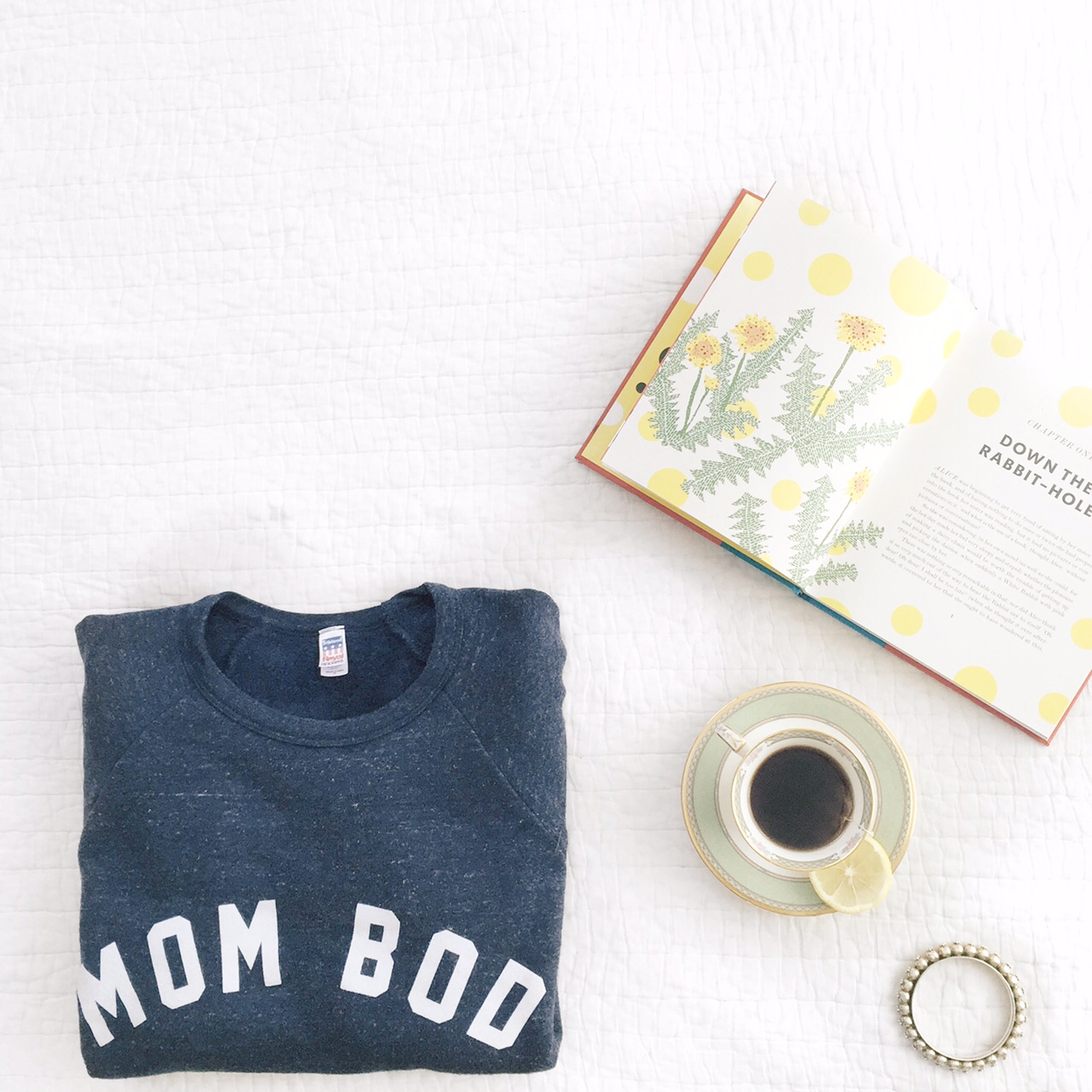 Super soft mom bod sweatshirt from glam camp