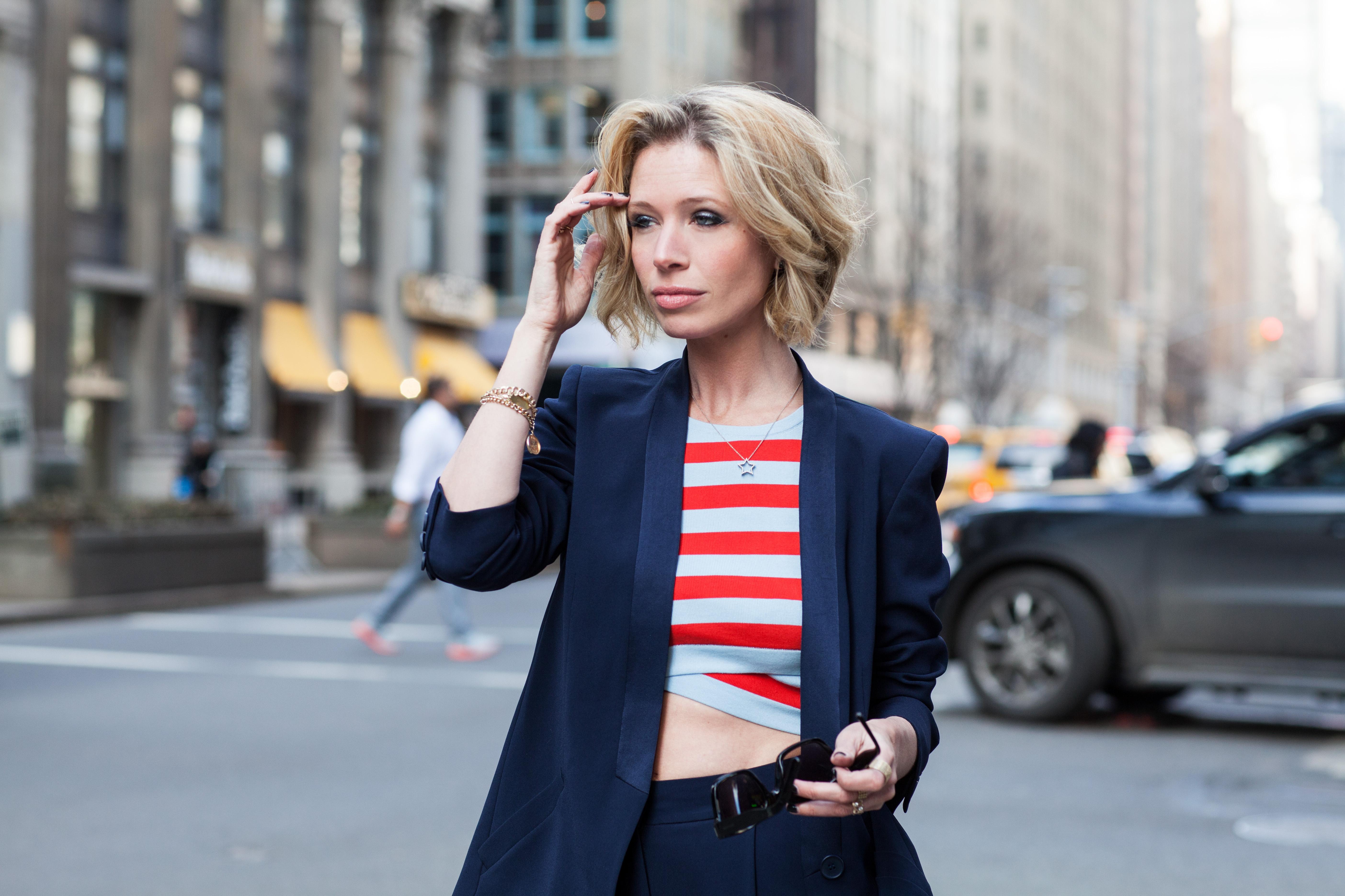 Jordan Reid for DKNY, 2015