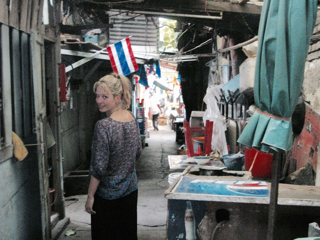 Walking through the markets in Bangkok