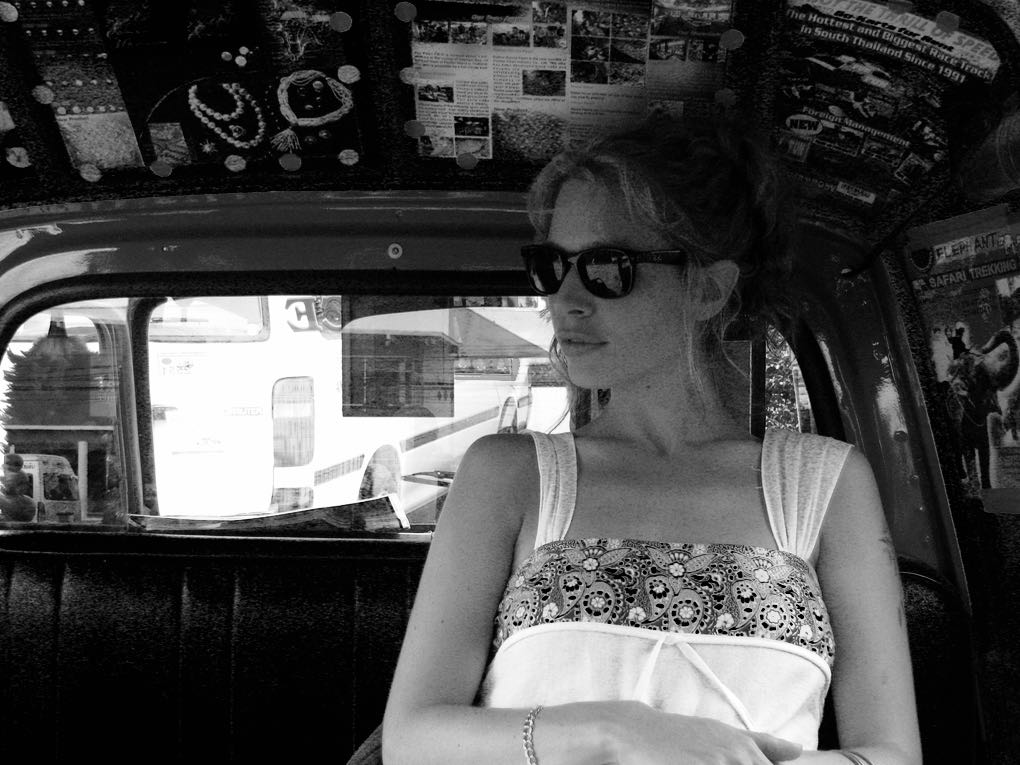 Tuk tuk ride in Bangkok
