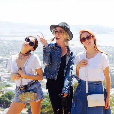 Jordan Reid, Francesca Vannucci and Brie Barbaccia