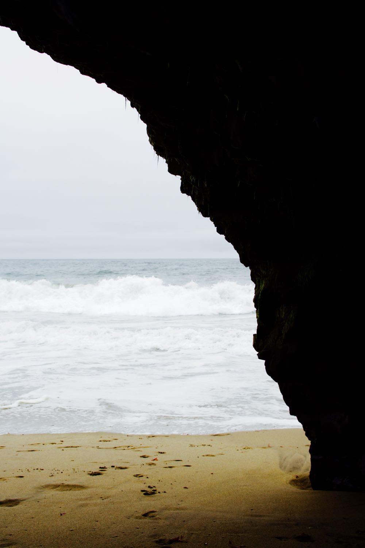 Caves along the California Coast