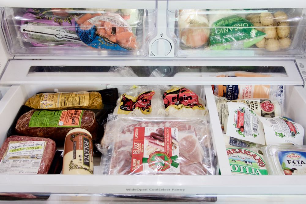 what's in a mother of two's refrigerator?