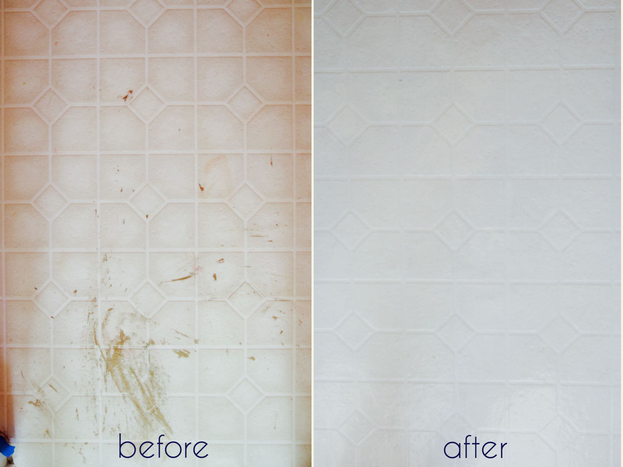 Painted tiles in bathroom - How To Easily Make Over Your Bathroom Tile Using Paint