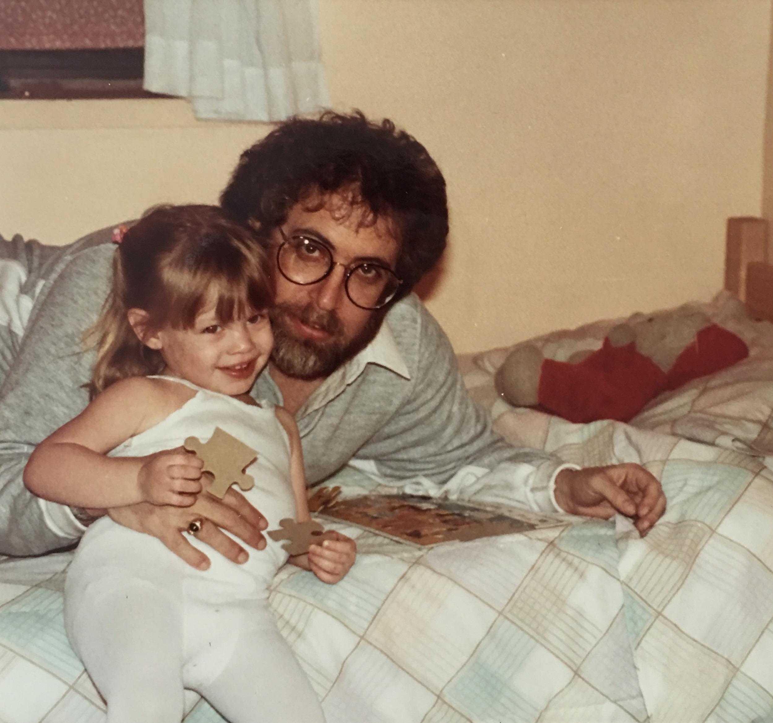 Jordan Reid and dad