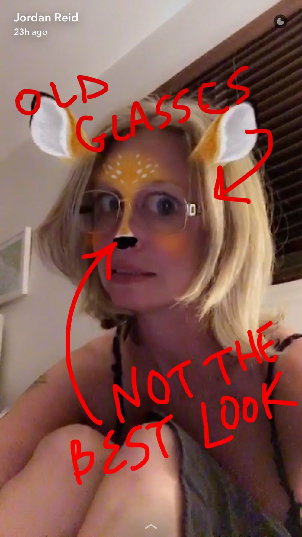 Jordan Reid Ramshackle Glam Snapchat
