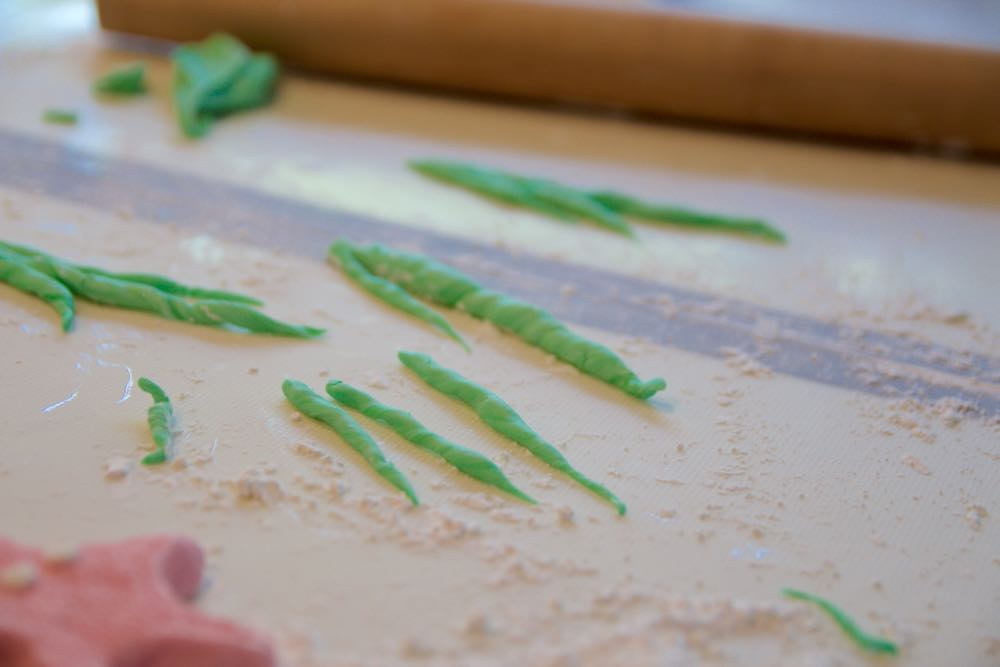 how to make fondant seaweed
