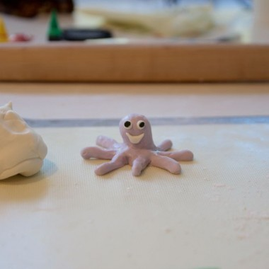 how to make a fondant octopus