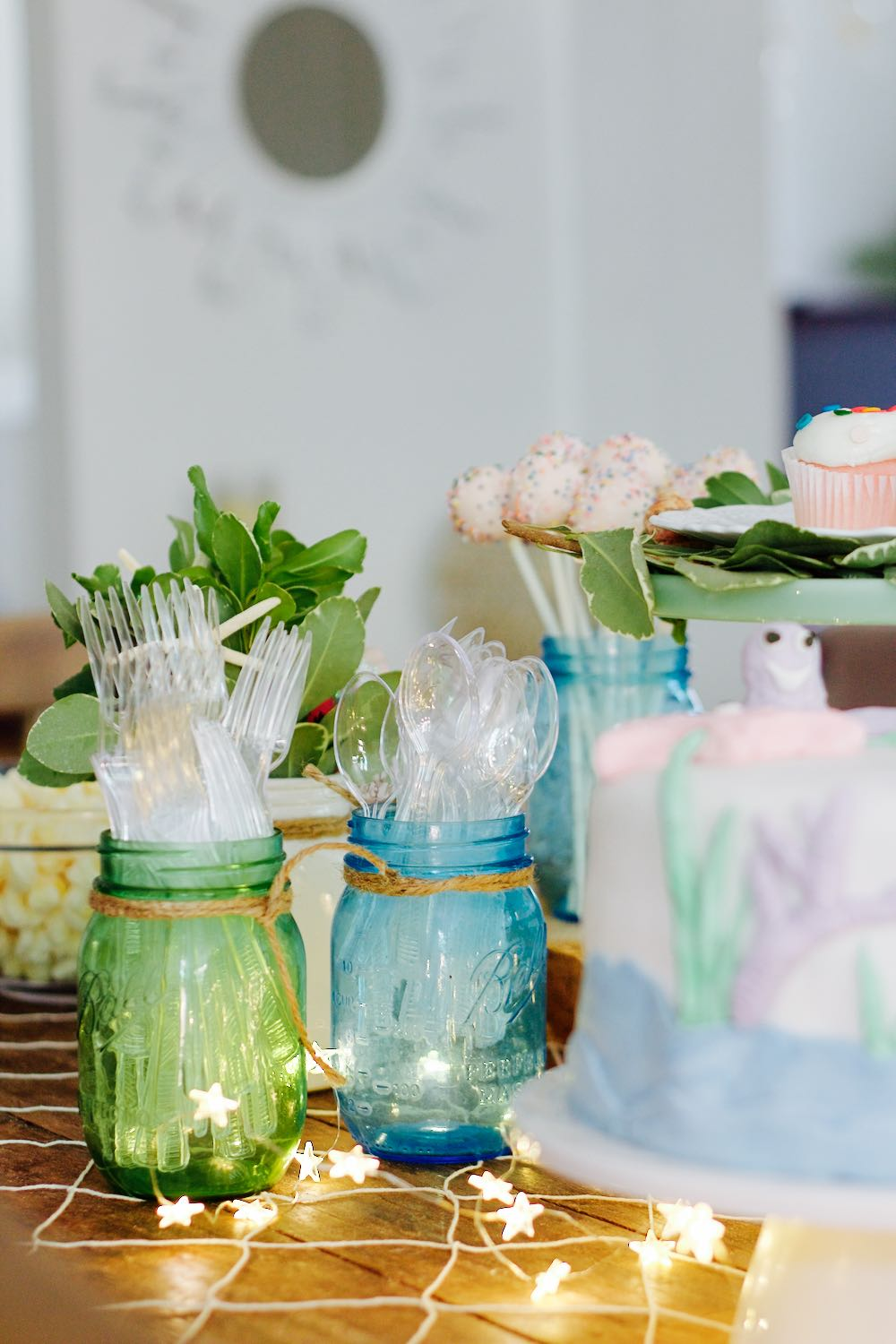 Decor ideas for a chic and elegant little girl's birthday party