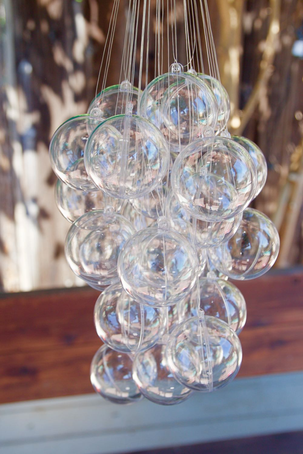 How To Make An Inexpensive Bubble Chandelier