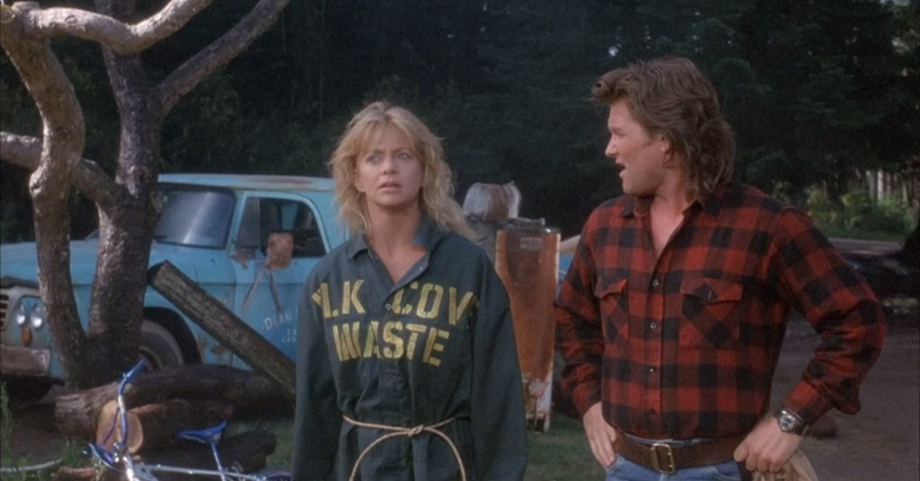 Goldie Hawn and Kurt Russell in the movie Overboard