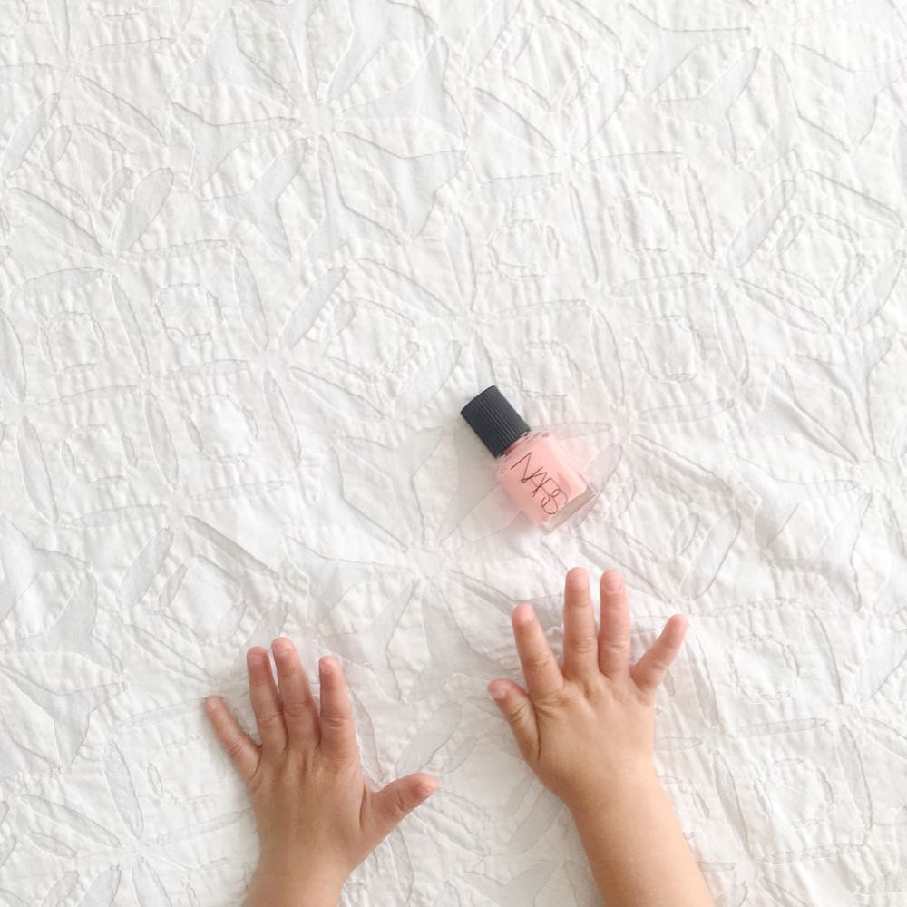 perfect baby pink nail polish by NARS trouville