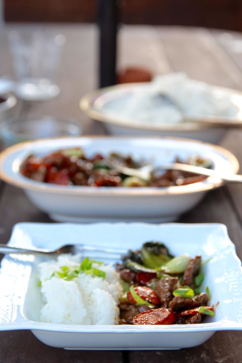 easy recipe for hoisin beef stir-fry with vegetables