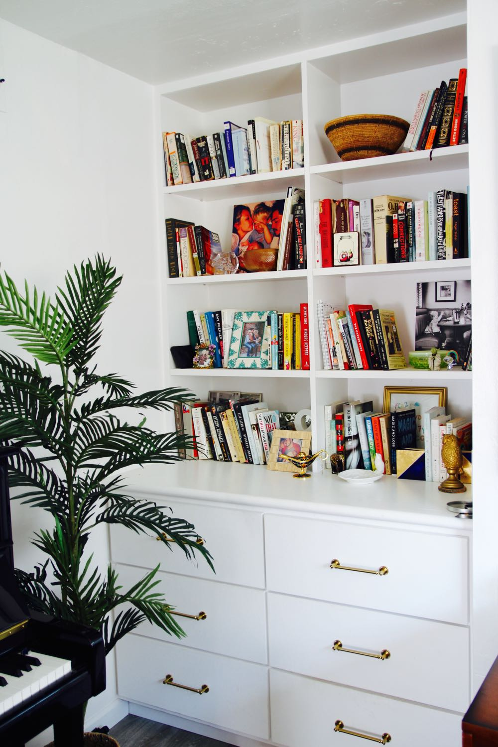 How to create the perfect bookshelf and display case