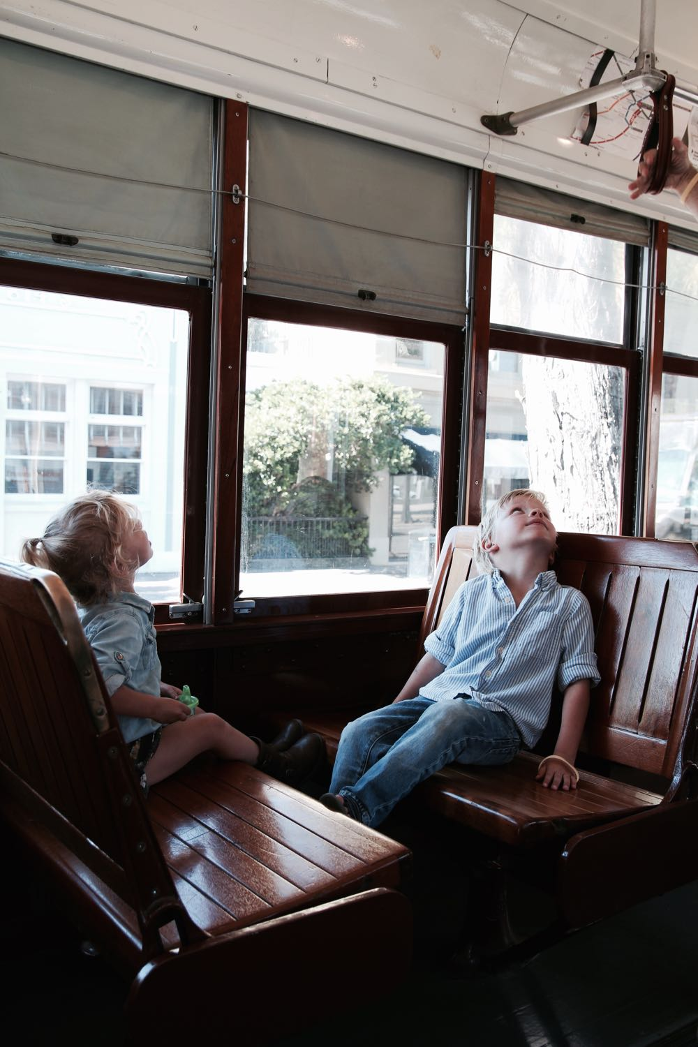 riding a streetcar in new orleans
