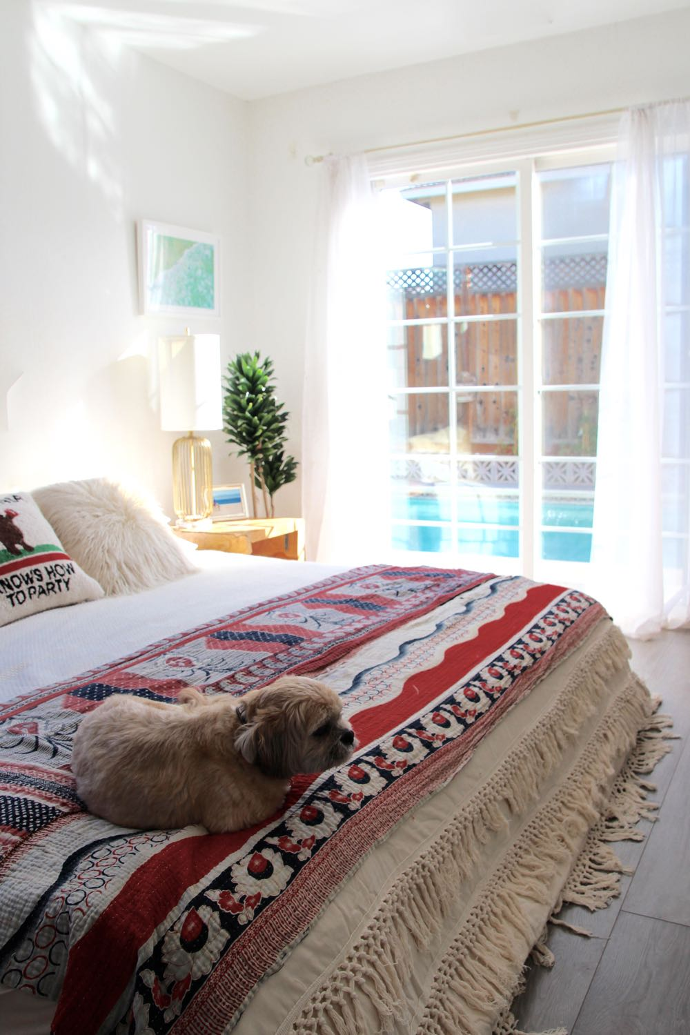 Urban Outfitters fringed duvet cover by Magical Thinking