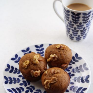 easy recipe for breakfast pumpkin muffins