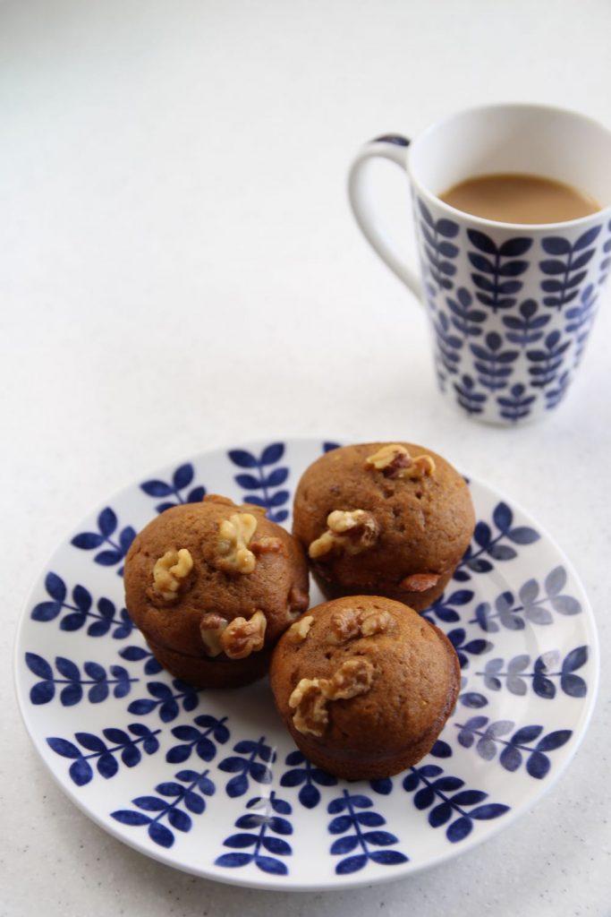 easy recipe for breakfast pumpkin muffins