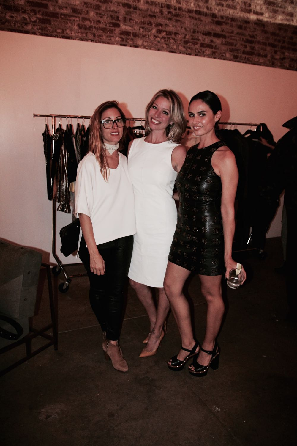 brie carbaccia, jordan reid and francesca vannucci in los angeles