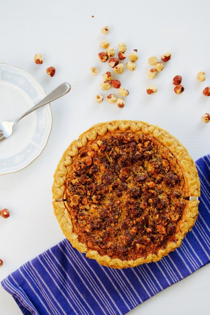 easy chocolate hazelnut crostata recipe
