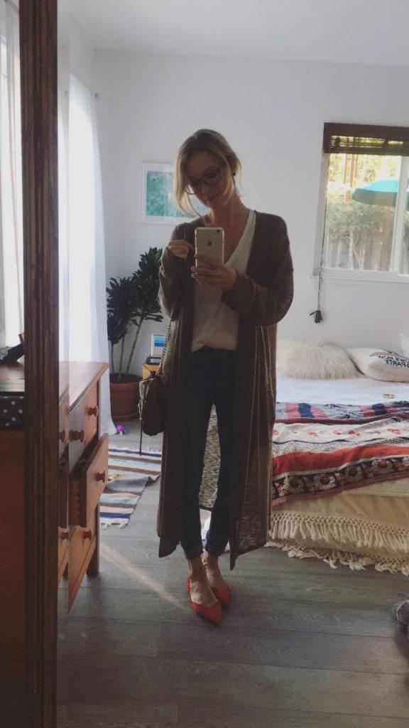 jordan reid instagram story outfit