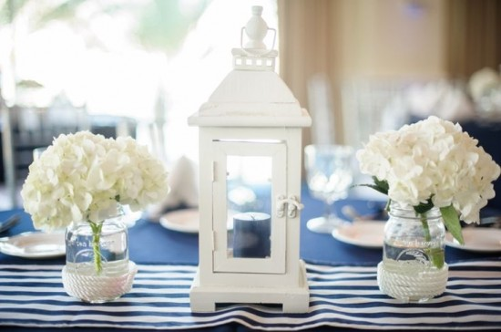 decor ideas for a nautical theme birthday party or baby shower