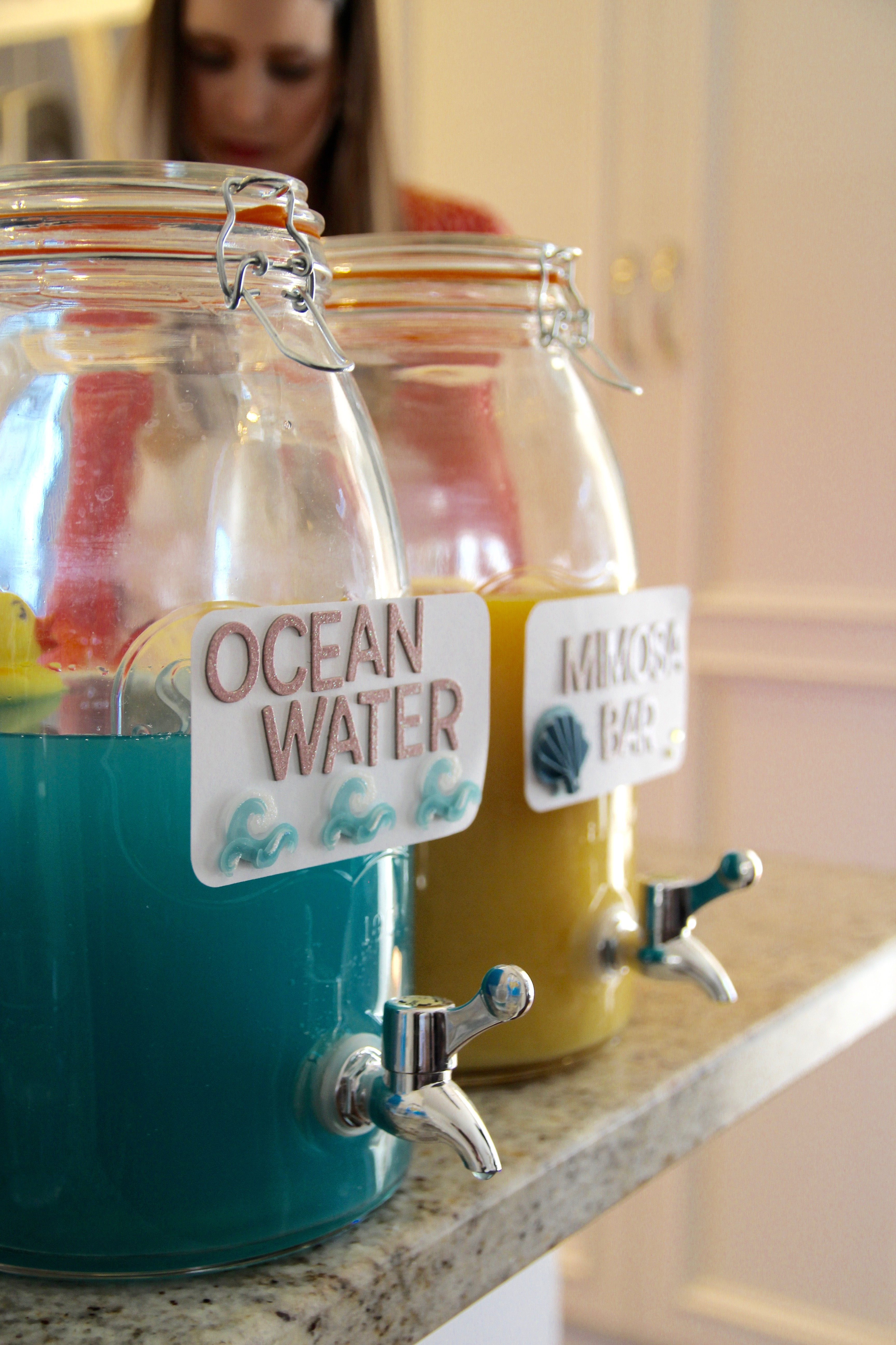 adorable ideas for a nautical party or baby shower cocktail