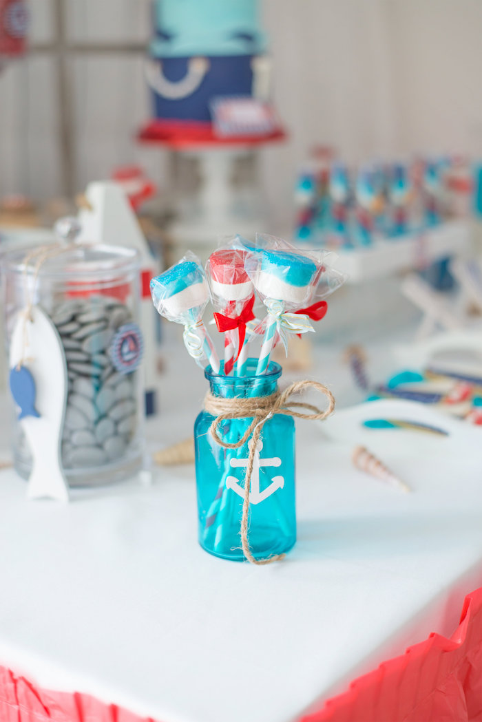 adorable ideas for a nautical party or baby shower