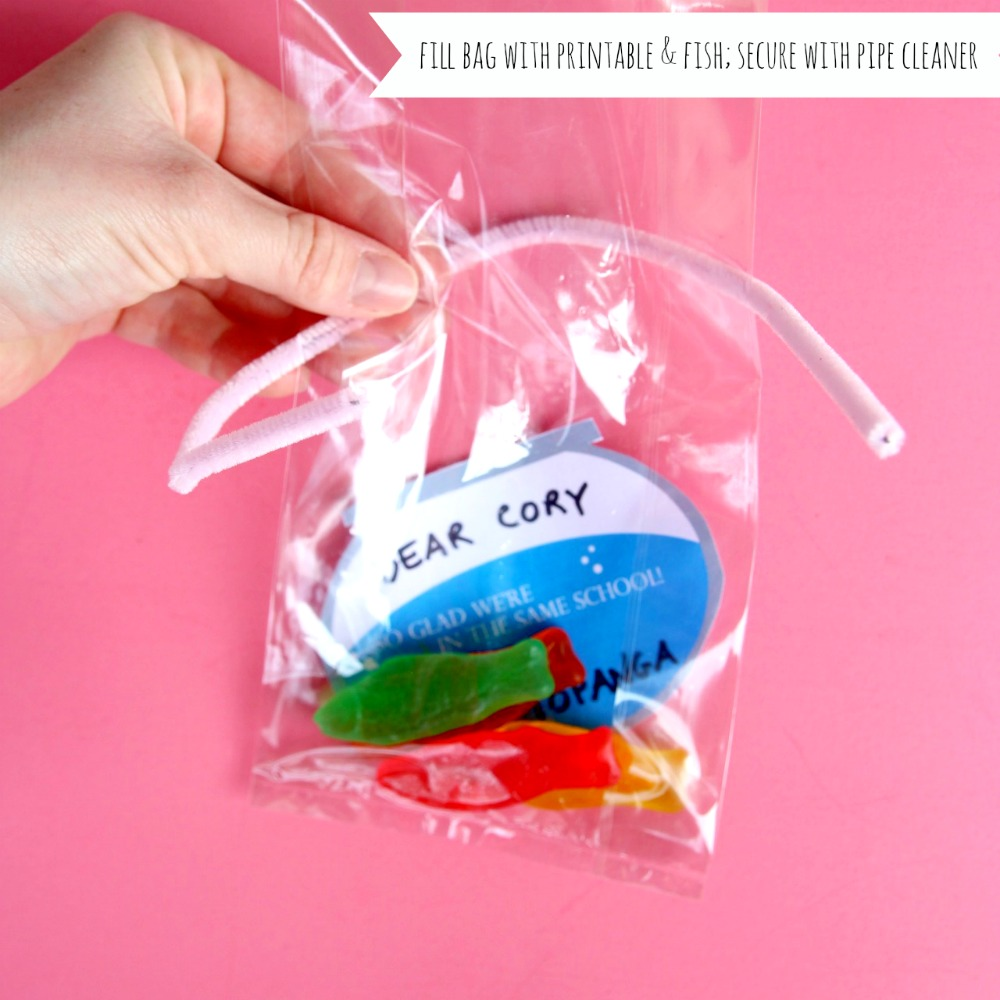 how to make a valentine's day school card with swedish fish