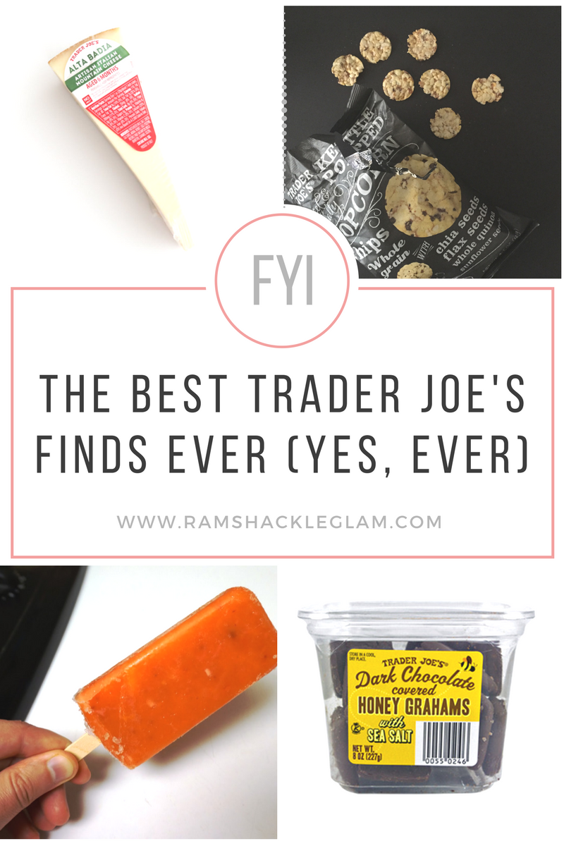 the best Trader Joe's finds and snacks 2017