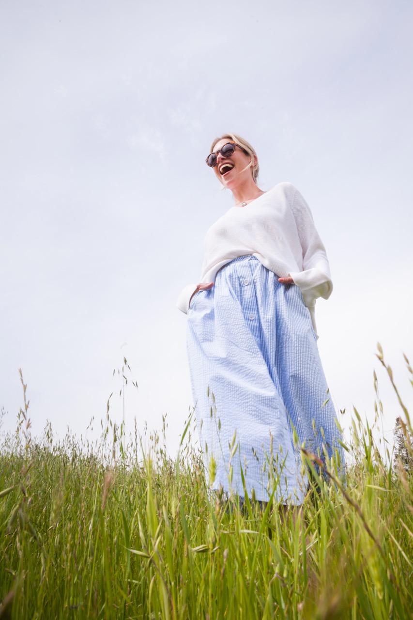 h&m spring 2017 midi skirt