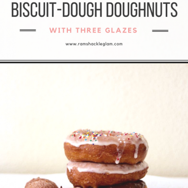 an easy and delicious recipe for biscuit dough donuts