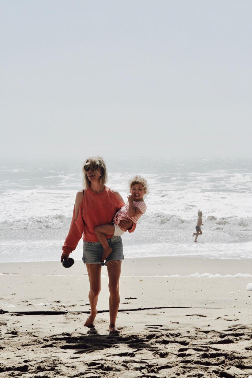 davenport beach in California