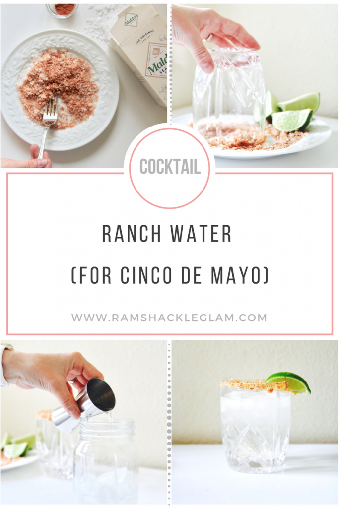 how to make a ranch water cocktail