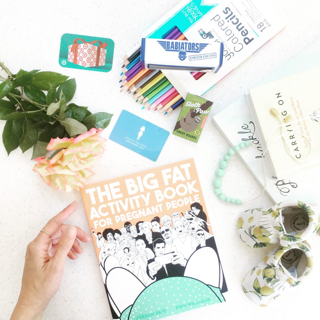 the big fat activity book for pregnant people giveaway