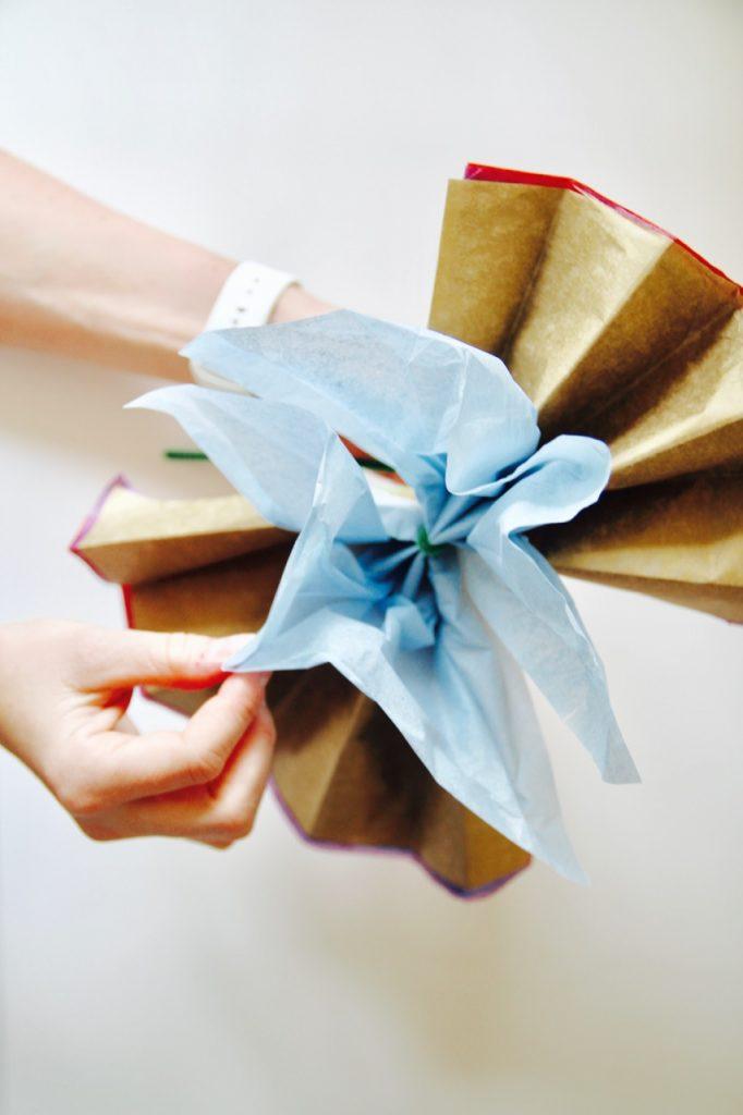 how to make cinco de mayo tissue paper flowers